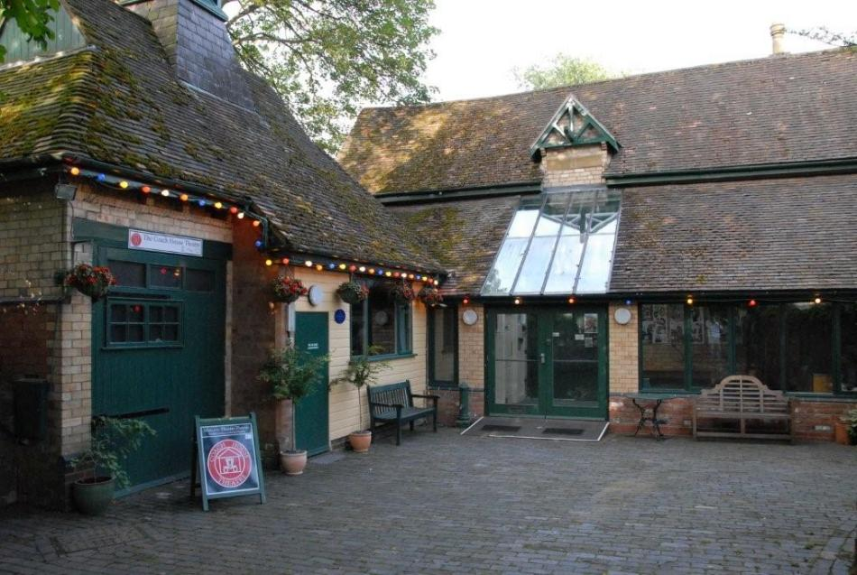 Coach House Theatre courtyard